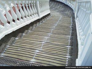 elektryczne ogrzewanie schodów